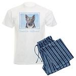 Swedish Vallhund Men's Light Pajamas