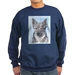 Swedish Vallhund Sweatshirt (dark)