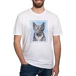 Swedish Vallhund Fitted T-Shirt