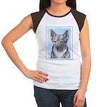 Swedish Vallhund Junior's Cap Sleeve T-Shirt