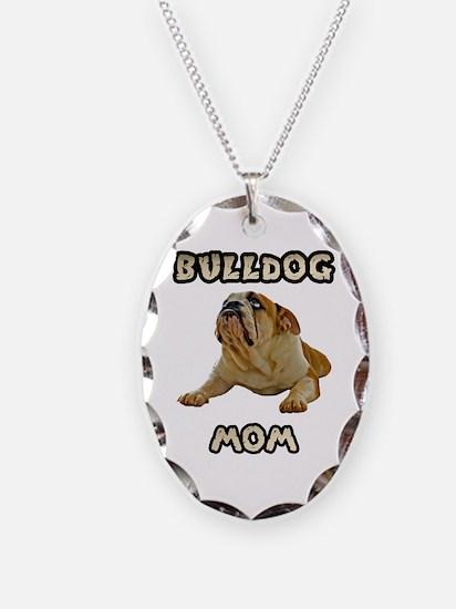 Bulldog Mom Necklace