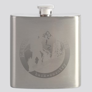 earn your turns white Flask