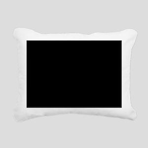 Dark Starry Night Rectangular Canvas Pillow