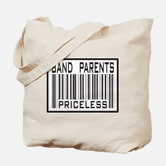 Band Parents Priceless Marching Tote Bag