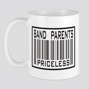 Band Parents Priceless Marching Mug