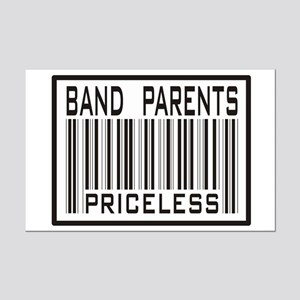 Band Parents Priceless Marching Mini Poster Print