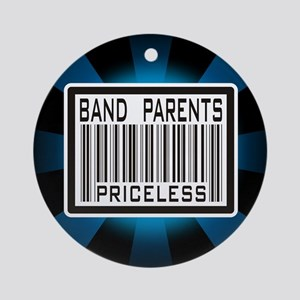 Band Parents Priceless Marching Ornament (Round)