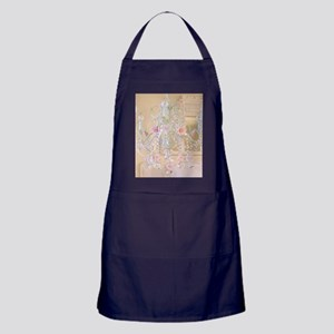 Shabby Chic Chandelier Apron (dark)