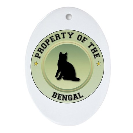 Bengal Property Oval Ornament