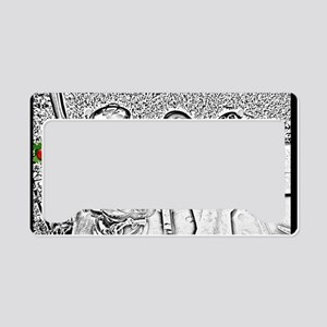 happyholiday6 License Plate Holder