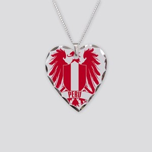 peruwinged Necklace Heart Charm