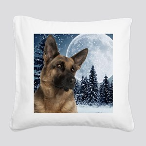 GSWinteriPad Square Canvas Pillow