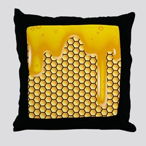 honeycombflipflops Throw Pillow