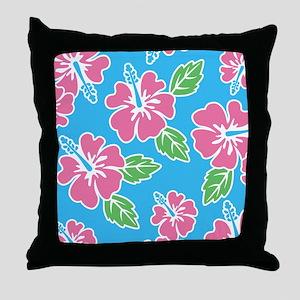 hawaiinflipflops Throw Pillow