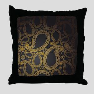 paisleyflipflops Throw Pillow