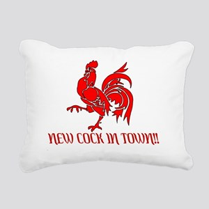 Rooster Rectangular Canvas Pillow