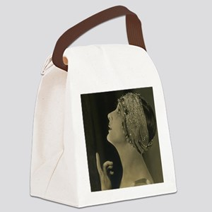 vintage starlet Canvas Lunch Bag