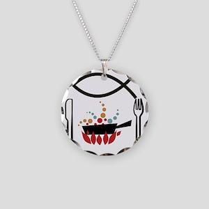 6x6_pocket Necklace Circle Charm