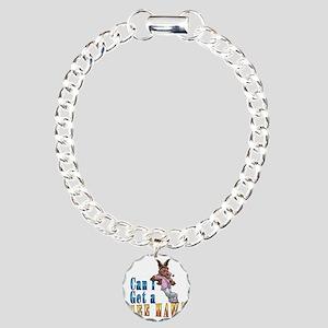 Hee_Haw_final11 Charm Bracelet, One Charm