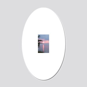 LKSS2.34x3.2 20x12 Oval Wall Decal