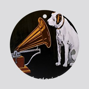 His Masters Voice Round Ornament
