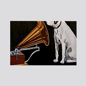 His Masters Voice Rectangle Magnet