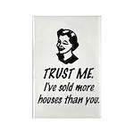 Trust Me Female Rectangle Magnet (10 pack)