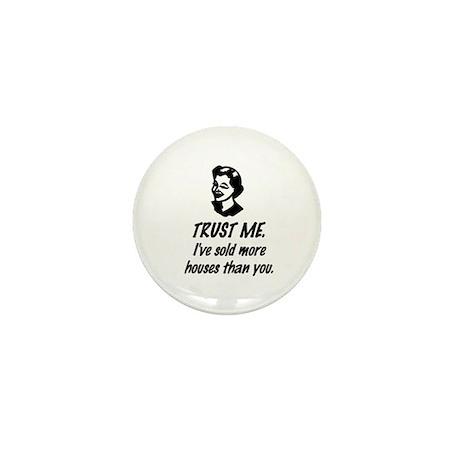Trust Me Female Mini Button