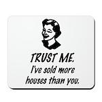 Trust Me Female Mousepad