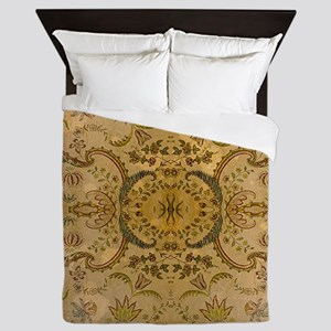 damask vintage Queen Duvet