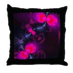 Rose Flower Fairy Throw Pillow