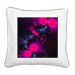 Flower Fairy Square Canvas Pillow