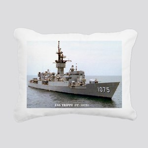 trippe ff large framed p Rectangular Canvas Pillow