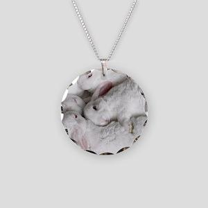 01-January-babies Necklace Circle Charm