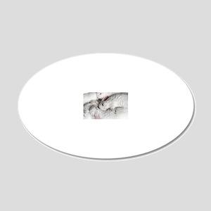 01-January-babies 20x12 Oval Wall Decal