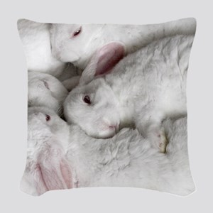 01-January-babies Woven Throw Pillow