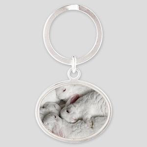 01-January-babies Oval Keychain
