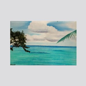 Calm Waters a shirt Rectangle Magnet