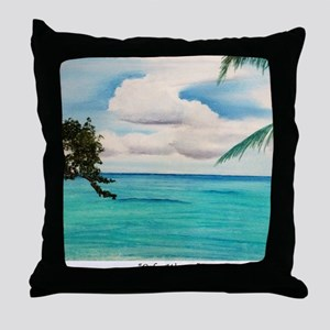 Calm Waters a shirt Throw Pillow