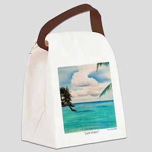 Calm Waters a shirt Canvas Lunch Bag