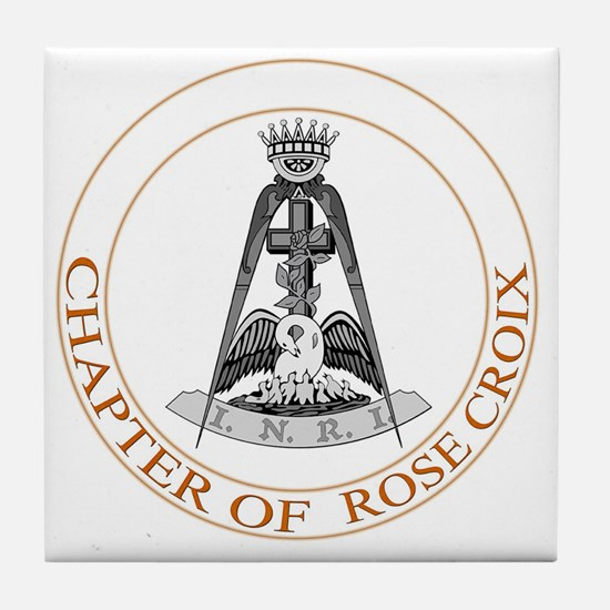 Chapter of Rose Croix Tile Coaster