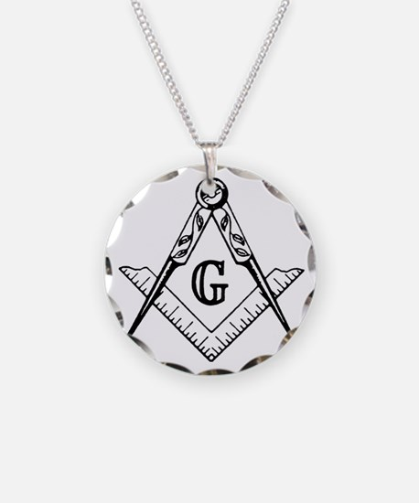 Square and Compasses Necklace