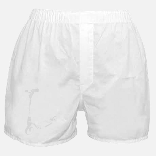 Scooter white Boxer Shorts