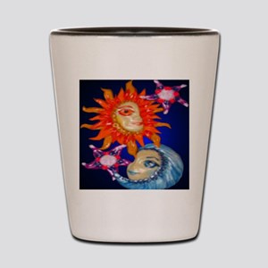 sunmoonornament Shot Glass