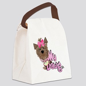 5 my dawg-001 Canvas Lunch Bag