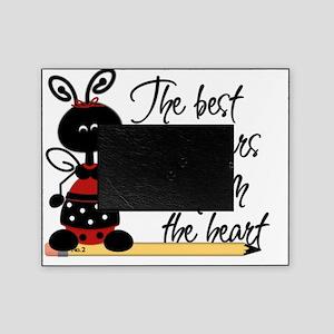 5 teacher ladybug Picture Frame