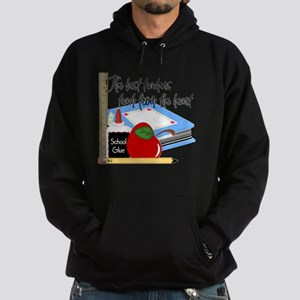 5 teach from heart-001 Hoodie (dark)