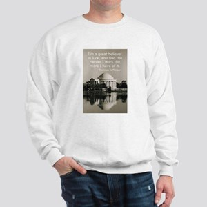 Jefferson's Quote Regarding L Sweatshirt