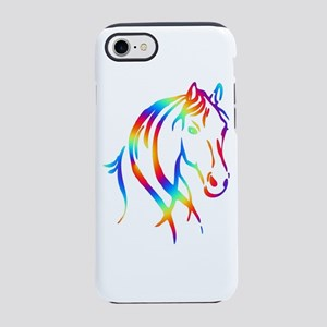 Colorful Horse Head iPhone 7 Tough Case