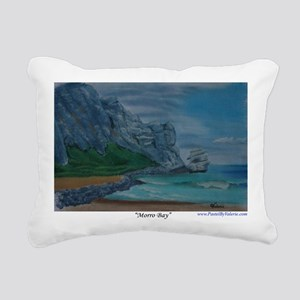 Morro Bay a shirt Rectangular Canvas Pillow